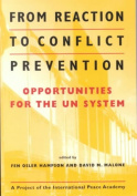 From Reaction to Conflict Prevention