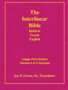 Larger Print Bible-Il-Volume 4 [Large Print]
