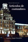 Articulos de Costumbres [Spanish]