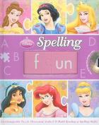 Disney Princess Spelling Fun [With CD (Audio)] [Board Book]