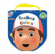 Handy Manny Toolbox Colors [With CD (Audio)] [Board Book]
