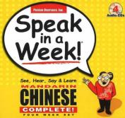 Speak in a Week Mandarin Chinese Complete