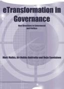 Etransformation in Governance