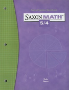 Saxon Math 5/4 Facts Practice Workbook