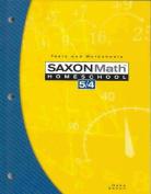 Saxon Math Homeschool 5/4