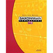 Saxon Math Homeschool 7/6