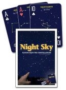 Adventure Publications AP32420 Night Sky Playing Cards