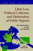 Libel Law, Political Criticism, and Defamation of Public Figures