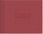 Artisan Guest Book/Burgundy