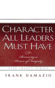 Character All Leader Must Have