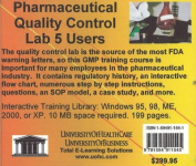 Pharmaceutical Quality Control Lab, 5 Users