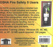 OSHA Fire Safety, 5 Users [Audio]
