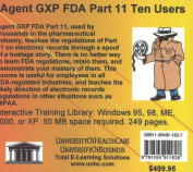 Agent GXP FDA, 10 Users