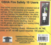 OSHA Fire Safety, 10 Users [Audio]