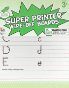 Super Printer Wipe-Off Boards [With Marker]