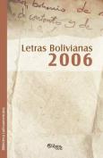 Letras Bolivianas 2006