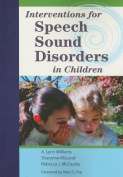 Interventions for Speech Sound Disorders
