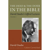 The Deed and the Doer in the Bible