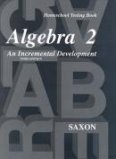 Homeschool Testing Book Algebra 2