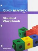 Saxon Math K: Workbooks