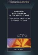 Permanent Establishment in the United States