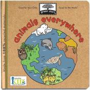 Animals Everywhere (Green Start) [Board book]
