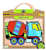 Green Start Mighty Mixer Wooden Puzzle