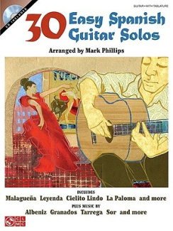 30 Easy Spanish Guitar Solos [With CD]