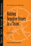 Raising Sensitive Issues in a Team (J-B CCL
