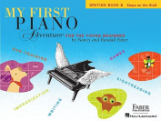 My First Piano Adventure, Writing Book B, Steps on the Staff