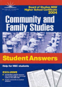Community and Family Studies
