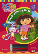 Dora the Explorer Stencil Book [Board book]
