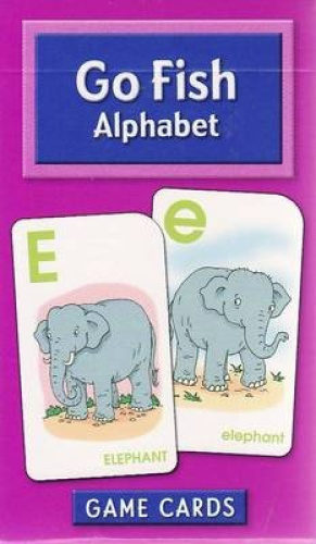 Go fish alphabet game cards school zone flash cards for Go fish cards