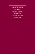 Minorities in the Middle East 4 Volume Hardback Set
