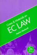 Cases and Materials on EC Law