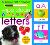 Wipe Clean Letters (Simple First Activities) [Board book]