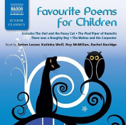 Favourite Poems for Children [Audio]