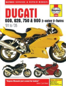 Ducati 600, 620, 750 & 900 2-valve Service and Repair Manual