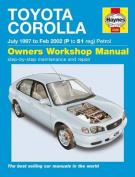 Toyota Corolla Petrol Service and Repair Manual