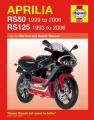 Aprilia RS50 and 125 Service and Repair Manual
