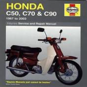 Honda C50, C70 and C90 Service and Repair Manual