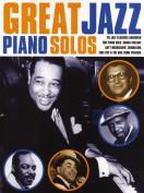 Great Jazz Piano Solos.