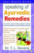 Speaking of Ayurvedic Remedies