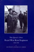 Queen's Own Royal West Kent Regiment 1920-1950