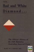 Red and White Diamondauthorised History of the Twenty-Fourth Battalion Aif
