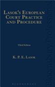 Lasok's European Court Practice and Procedure