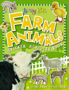 Busy Kids Farm Animals Sticker Activity Book [With More Than 70 Stickers]