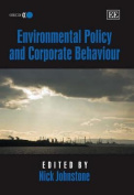 Environmental Policy and Corporate Behaviour