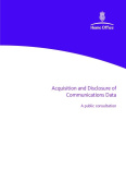 Acquisition and Disclosure of Communications Data
