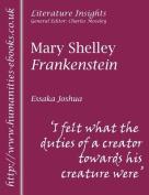 "Mary Shelley ""Frankenstein"""